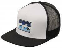Billabong All Day Trucker Hat - White / Blue