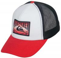 Quiksilver Jelly Trucker Hat - Chili Pepper Red