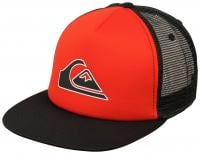 Quiksilver Snapper Trucker Hat - Quik Red