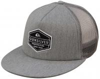 Quiksilver Marbleson Trucker Hat - Light Grey Heather