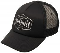 Quiksilver Knockout Trucker Hat - Black