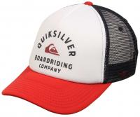 Quiksilver Breath Taker Trucker Hat - White