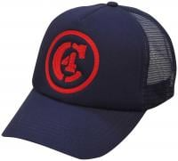 C4 Waterman Uli Trucker Hat - Slate Blue