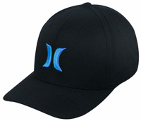 Hurley One and Only Hat - Black / Cyan