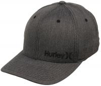 Hurley Corp Texture Hat - Black