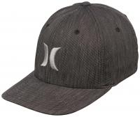 Hurley Black Suits Hat - Graphite Texture
