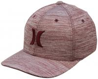 Hurley One and Textures Hat - Light Gym Red