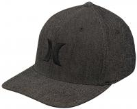 Hurley Black Suits Outline Hat - Anthracite