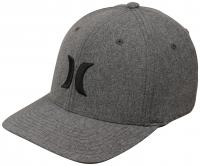 Hurley Black Suits Outline Hat - Bright Grey Heather