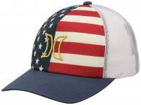 Hurley USA Women's Trucker Hat - Flag