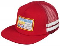 Von Zipper Tanning Team Trucker Hat - Red