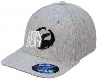 Dragon Next Level Hat - Heather Grey