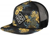 DaKine Classic Diamond Trucker Hat - Black Pineapple