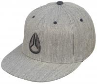 Nixon Deep Down Hat - Light Heather Grey