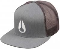 Nixon Deep Down Trucker Hat - Charcoal / White