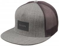 Nixon Team Trucker Hat - Heather Grey