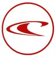 O'Neill Wave Sticker - Red