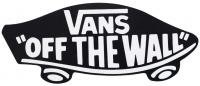 Vans Logo Off The Wall Sticker - Black