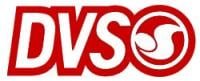 DVS Logo Sticker - Red