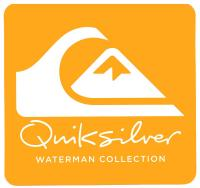 Quiksilver Waterman Corporate Logo Sticker