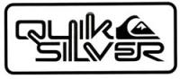 Quiksilver Corpo Sticker - Black