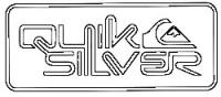 Quiksilver Corpo Sticker - White