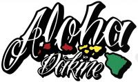 DaKine Aloha Island Sticker - White
