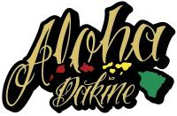 DaKine Aloha Island Sticker - Tan