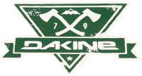 DaKine Hatchet Sticker - Green