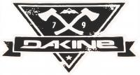 DaKine Hatchet Sticker - Black