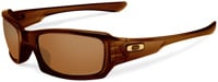 Oakley Fives Squared Sunglasses - Polished Rootbeer / Dark Bronze
