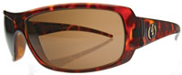Electric Charge Sunglasses - Tortoise Shell / Bronze