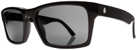 Electric Hardknox Sunglasses - Gloss Black / Melanin Grey