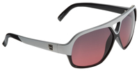Anon Shocker Sunglasses - Black and White / Rose