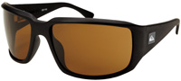 Quiksilver Fluid XL Sunglasses - Matte Black / Brown