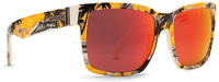 Von Zipper Elmore Sunglasses - Gnarr-waiian Orange / Lunar Glo