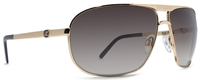 Von Zipper Skitch Sunglasses - Gold / Bronze Gradient