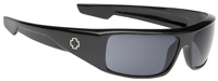 Spy Logan Sunglasses - Shiny Black / Grey