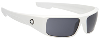 Spy Logan Sunglasses - White / Grey