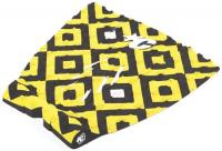 Creatures Of Leisure Mick Fanning Traction Pad - Yellow / Black