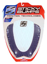 Sticky Bumps Aerial Traction Pad - Blue / White