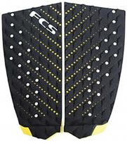 FCS T-2 Traction Pad - Black / Taxi Cab Yellow