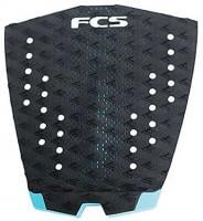 FCS T-1 Traction Pad - Black / Teal