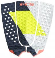 FCS Filipe Toledo Traction Pad - Coal / Lime