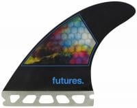 Futures Jordy Smith Small Surfboard Fin Set - CMYK