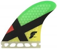 Futures WCT Surfboard Fin Set - Rasta