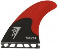 Futures Firewire Surfboard Five-Fin Set - Red