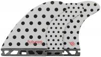 Futures Jack Freestone Surfboard Fin Set - Polka Stripes - Large