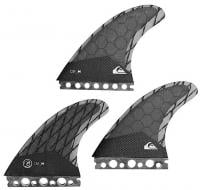Quiksilver AG47 Surfboard Fin Set - Black