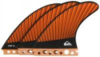 Quiksilver CBF-X Surfboard Fin Set - Orange